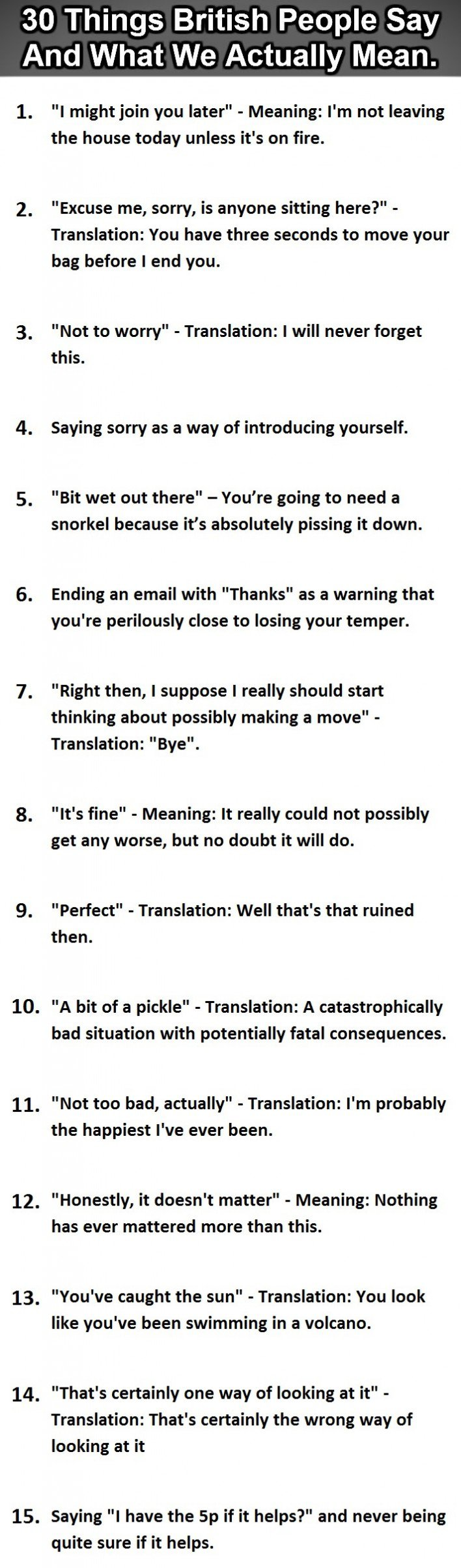 Things British People Say Vs. What They Actually Mean-1