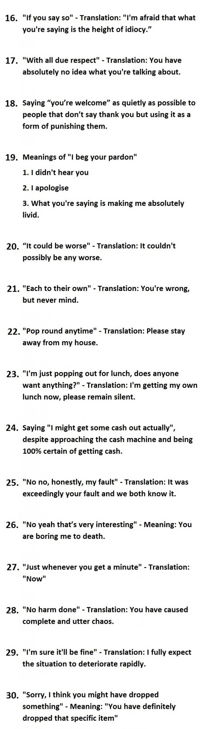Things British People Say Vs. What They Actually Mean-2