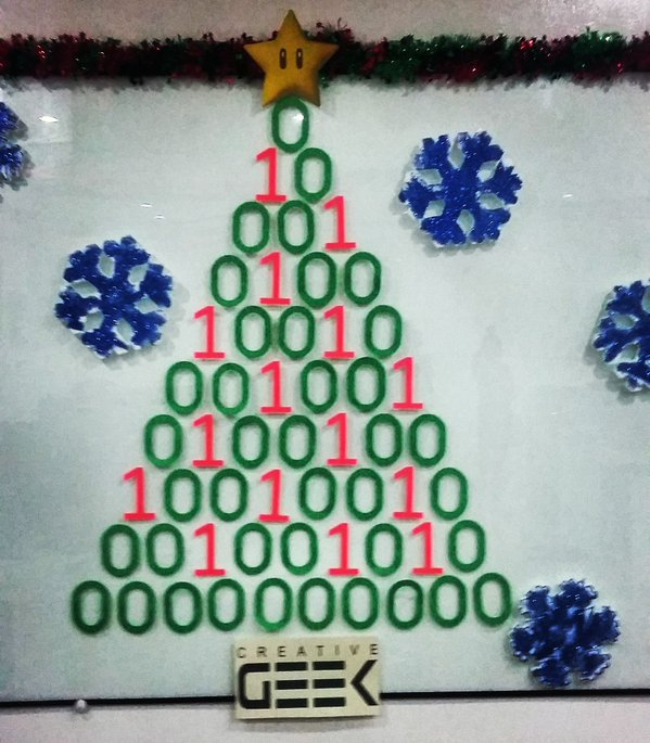 Binary Christmas Tree 4