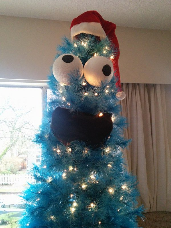 Cookie Monster Tree 2