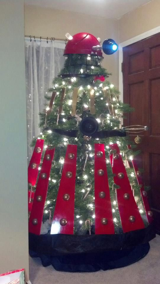 Dalek Christmas Tree 10