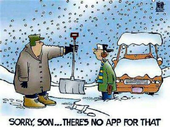 No Snow App Cartoon