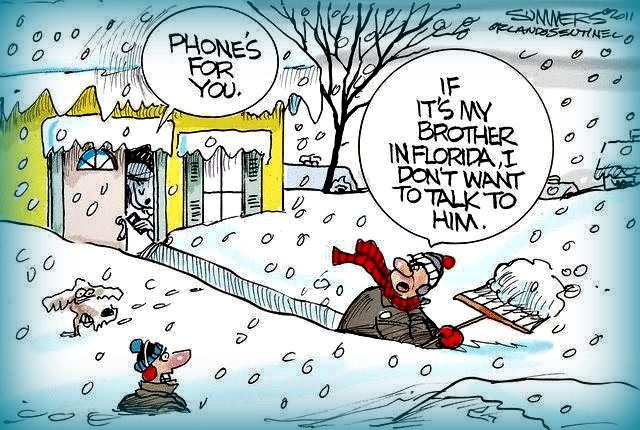 Shoveling Snow Cartoon