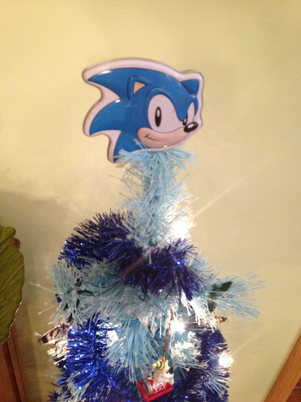 Sonic the Hedgehog Christmas Tree 9