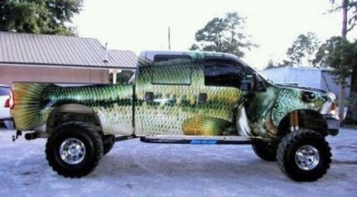 Bass Paint Job