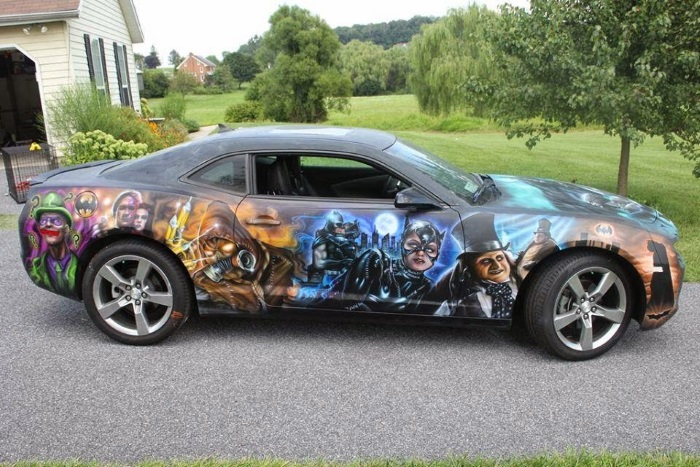 Batman Paint Job 2