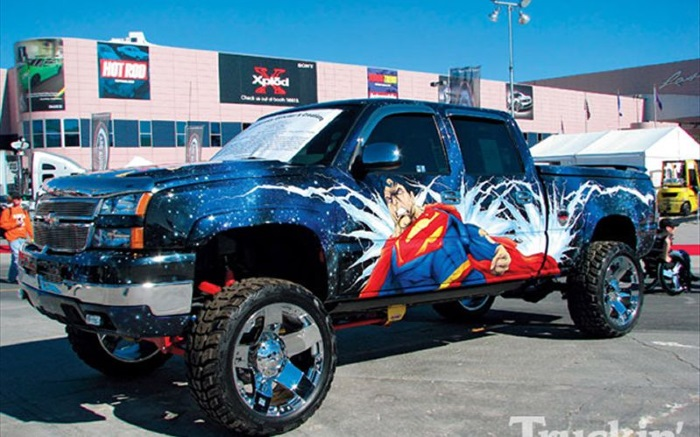 Superman Paint Job